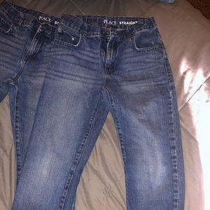 Boys Children's Place Jeans 2 Pair Size 12